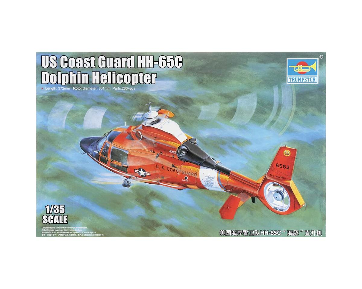 Trumpeter Scale Models 5107 1/35 HH-65C Dolphin US Coast Guard Helicopter