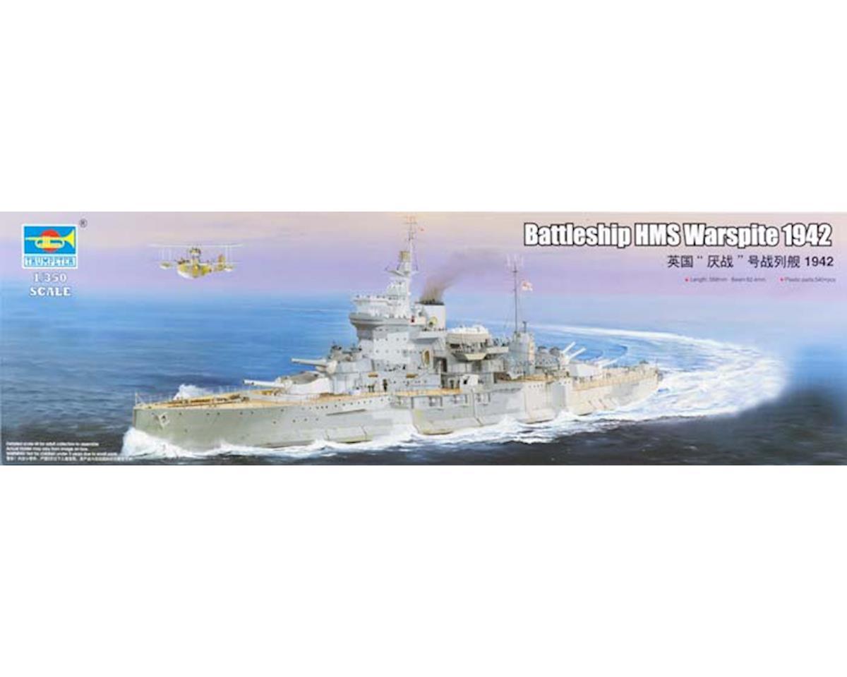 Trumpeter Scale Models 5325 1/350 HMS Warspite British Battleship