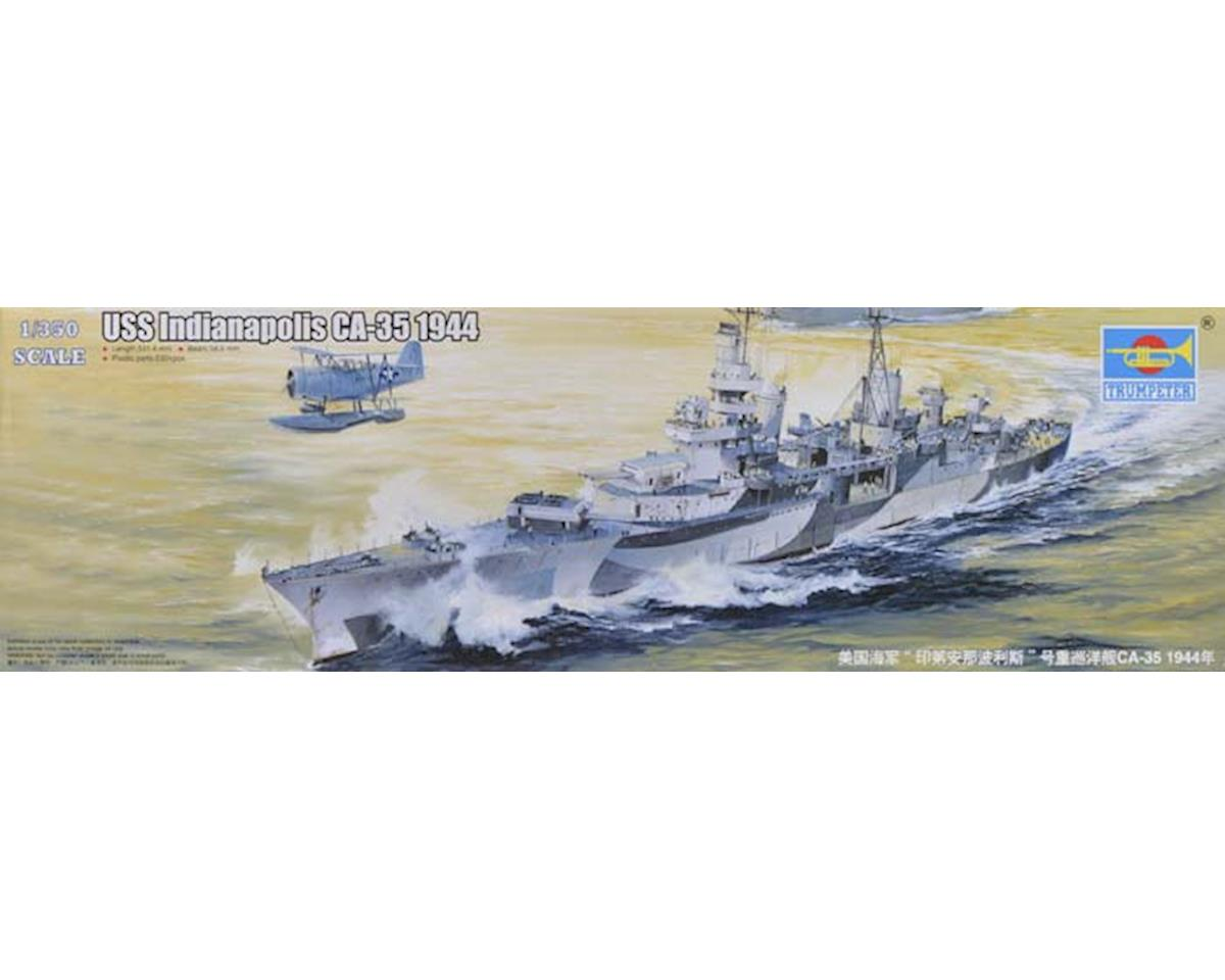 Trumpeter Scale Models 5327 1/350 USS Indianapolis CA-35 Heavy Cruiser 1944