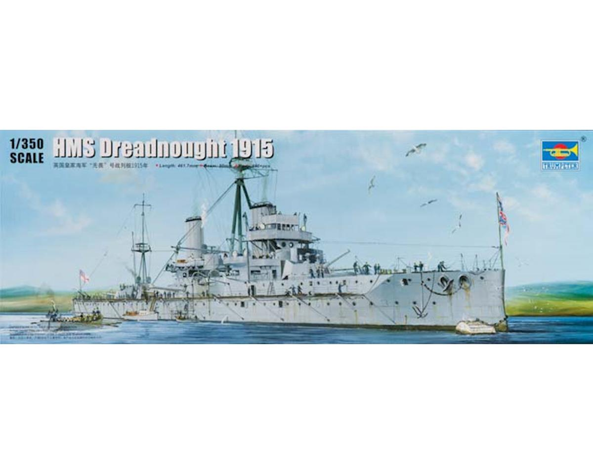 Trumpeter Scale Models 5329 1/350 HMS Dreadnought WWI British Battleship 1915