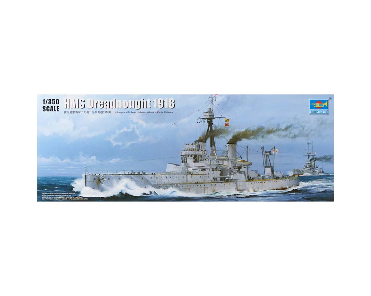5330 1/350 HMS Dreadnought WWI British Battleship 1918 by Trumpeter Scale Models