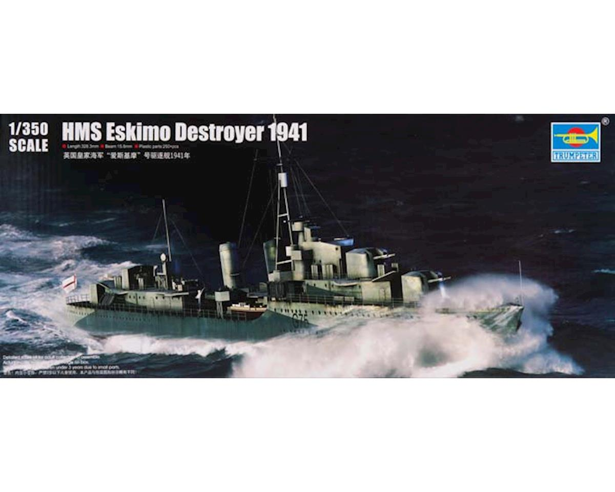 Trumpeter Scale Models 5331 1/350 HMS Eskimo WWII British Tribal Class Destroy