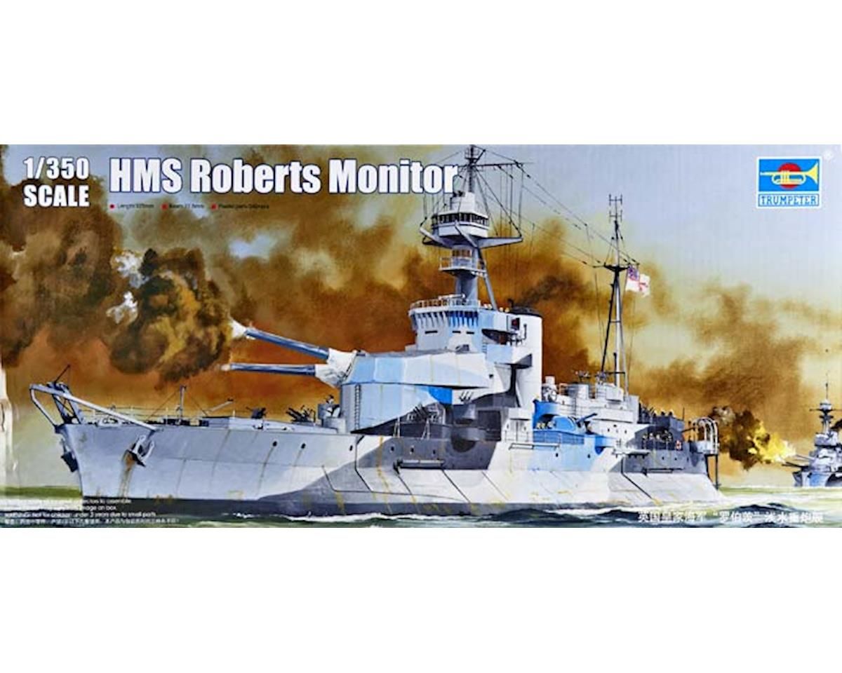Trumpeter Scale Models 5335 1/350 HMS Roberts British Monitor