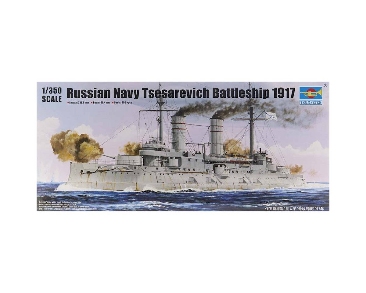 Trumpeter Scale Models 5337 1/350 Tsesarevich Russian Navy Battleship 1917