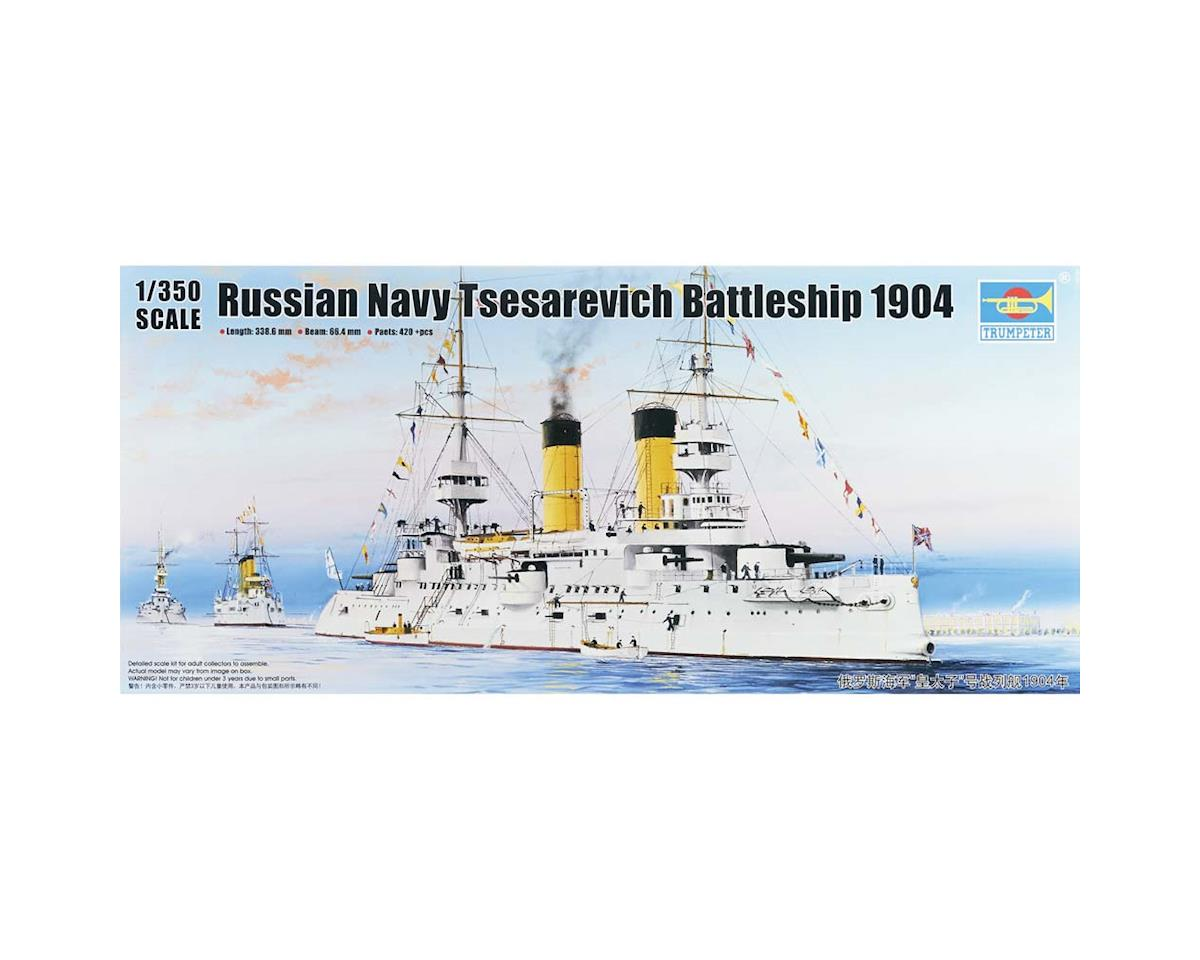 5338 1/350 Tsesarevich Russian Navy Battleship 1904 by Trumpeter Scale Models