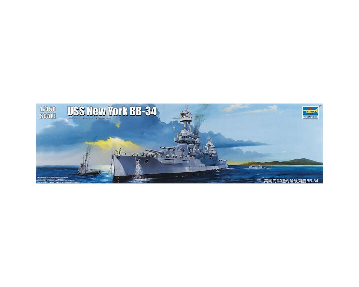 Trumpeter Scale Models 5339 1/350 USS New York BB-34 Battleship