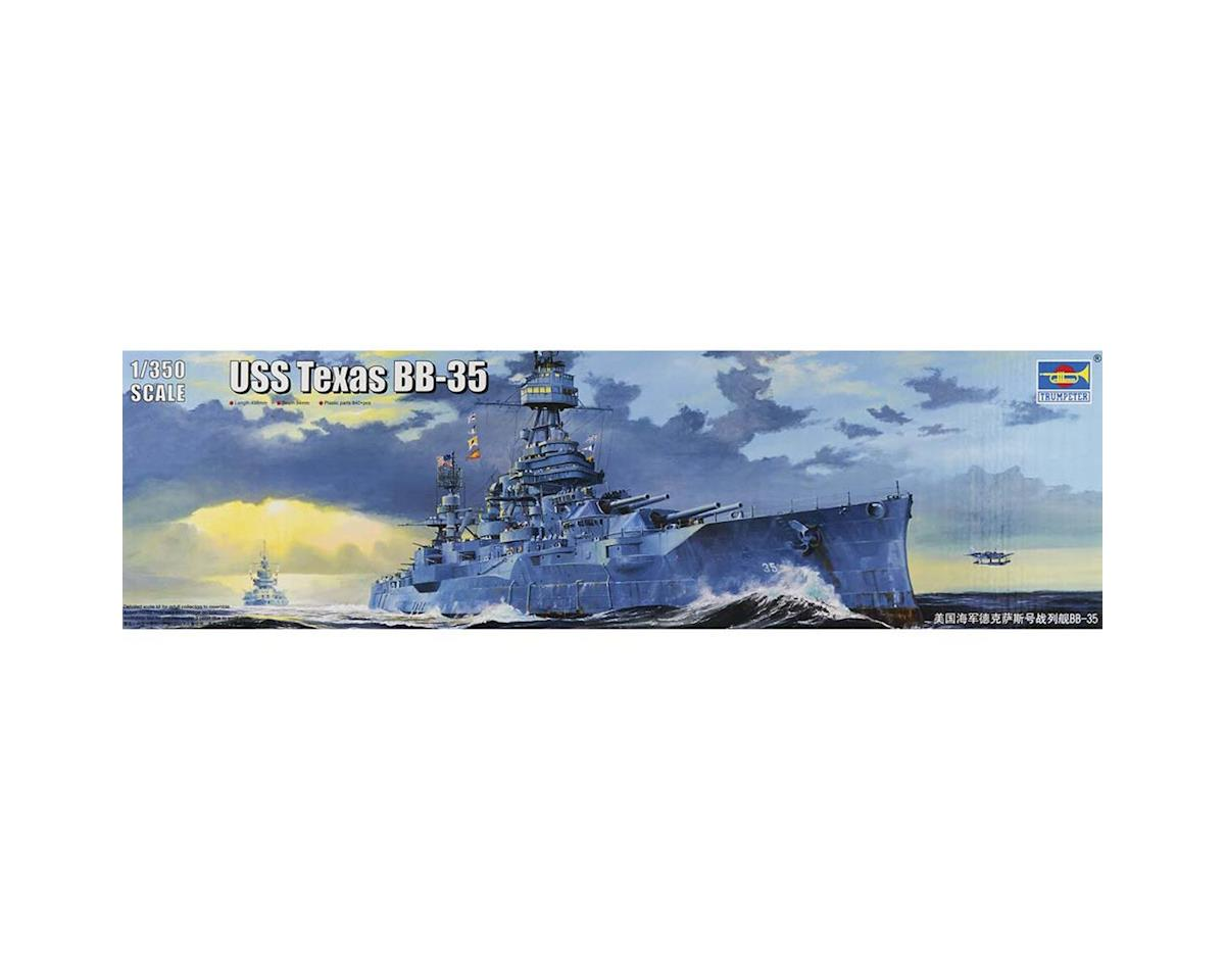 1/350 Uss New Texas Bb35 Battleship by Trumpeter Scale Models