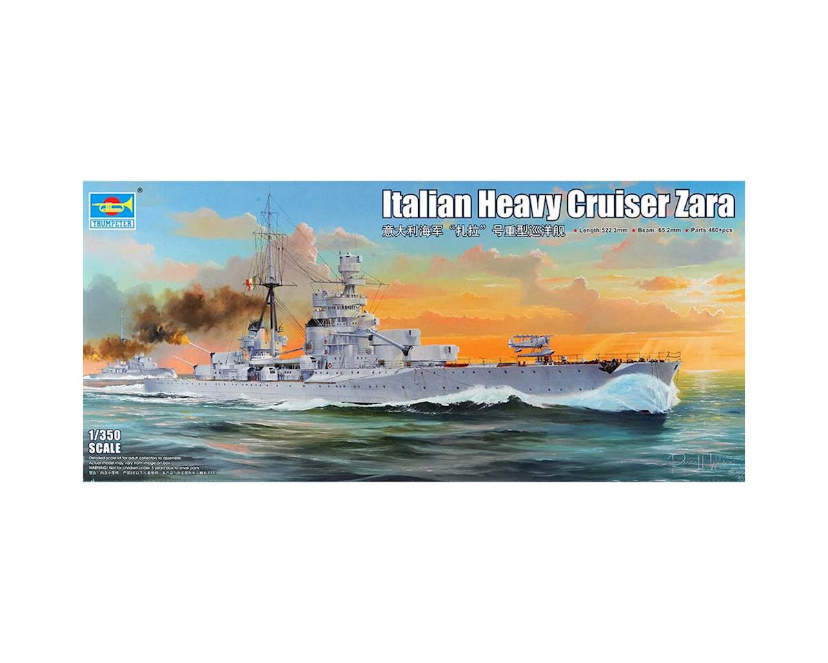 1/350 Italian Zara Heavy Cruiser by Trumpeter Scale Models