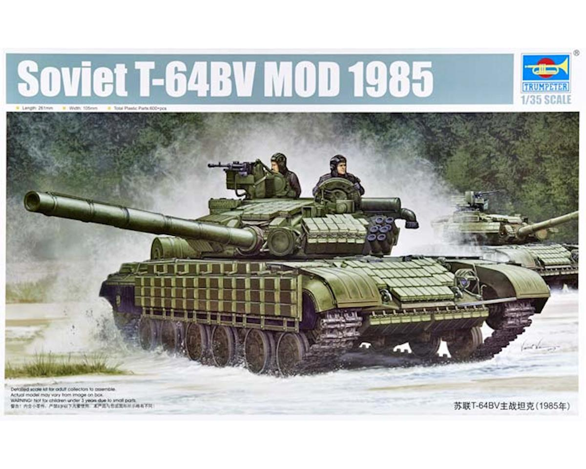 5522 1/35 Soviet T-64BV Mod 1985 Main Battle Tank by Trumpeter Scale Models
