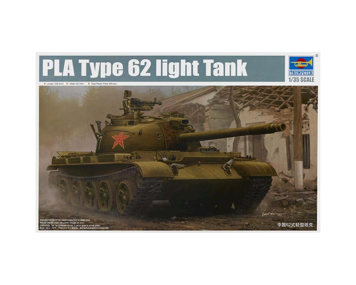 5537 1/35 PLA Chinese Type 62 Light Tank by Trumpeter Scale Models