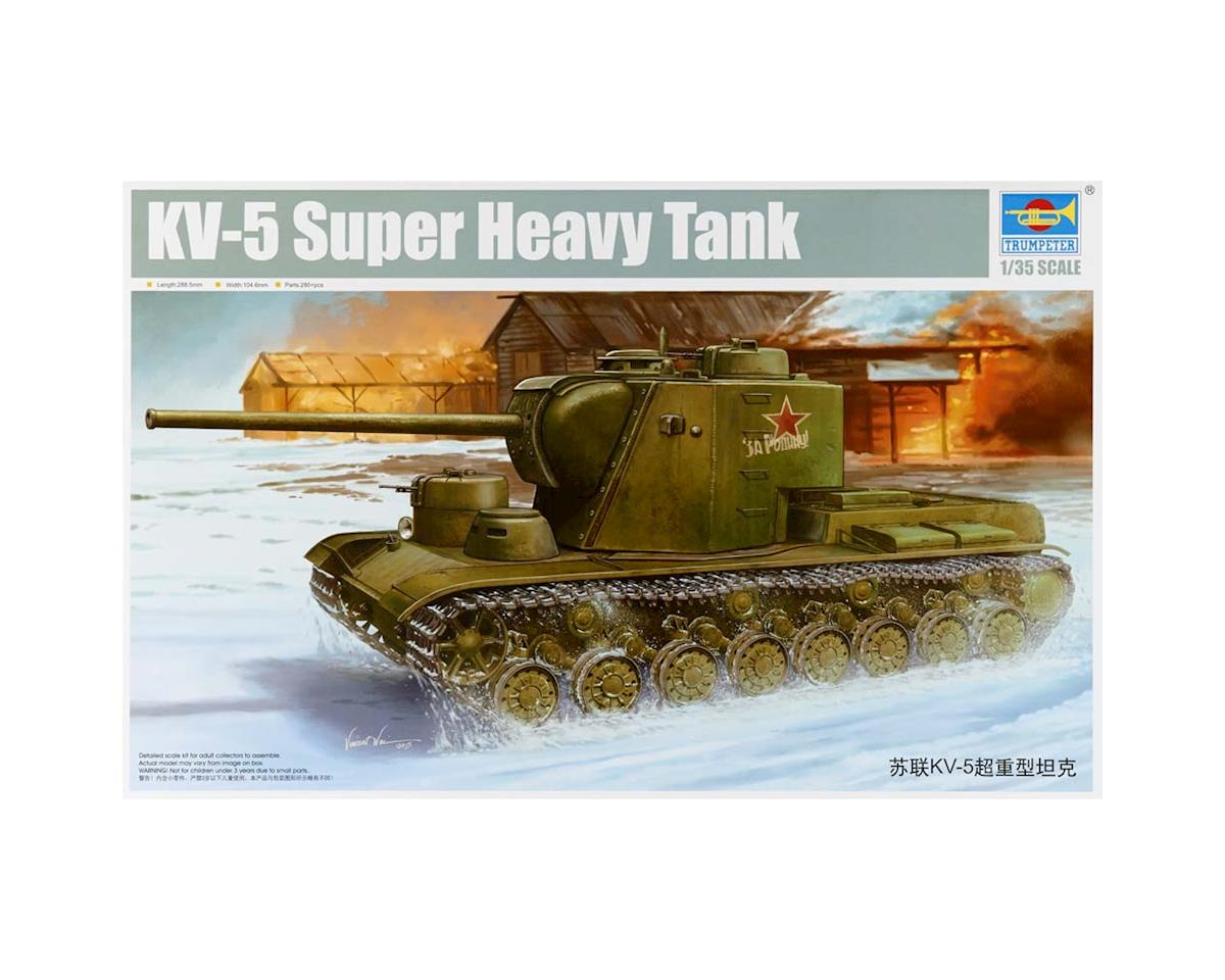 Trumpeter Scale Models 5552 1/35 Soviet KV-5 (Oject 225) Super Heavy Tank