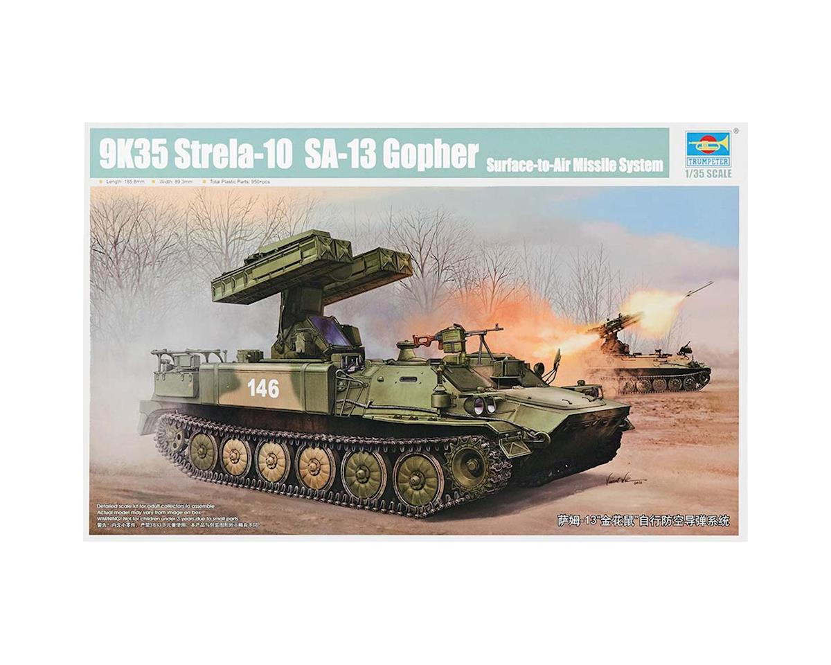 Trumpeter Scale Models 1/35 Russian SA-13 Gopher Surface-to-Air Missile