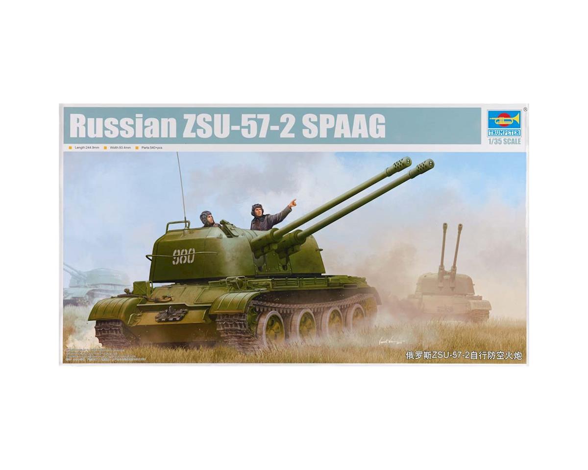 Trumpeter Scale Models 5559 1/35 Russian ZSU-57-2 SPAAG Self-Propelled Gun