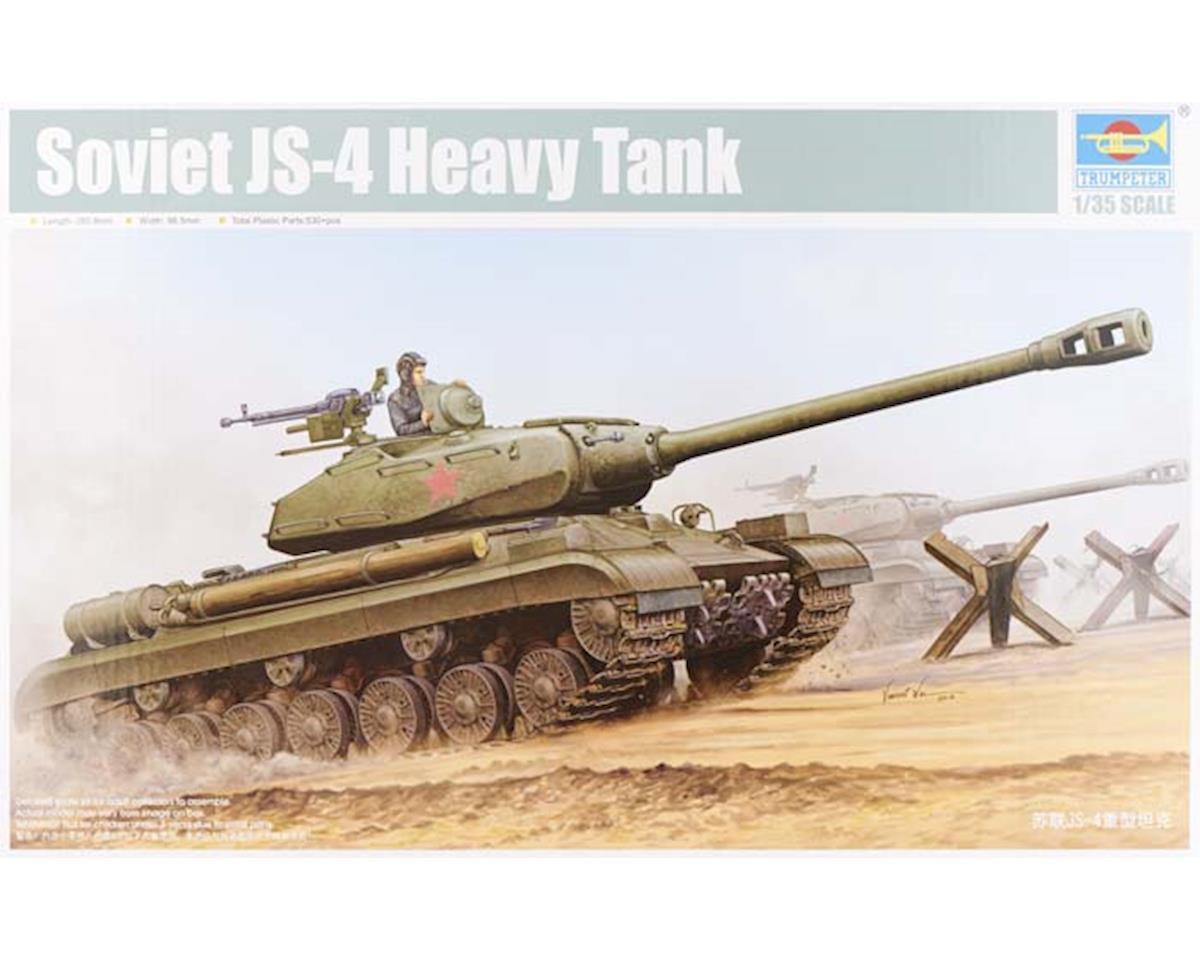 Trumpeter Scale Models 1/35 Soviet JS-4 Heavy Tank