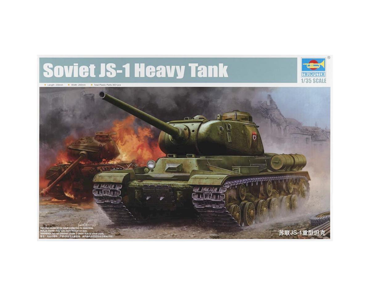 5587 1/35 Soviet JS-1 Heavy Tank by Trumpeter Scale Models