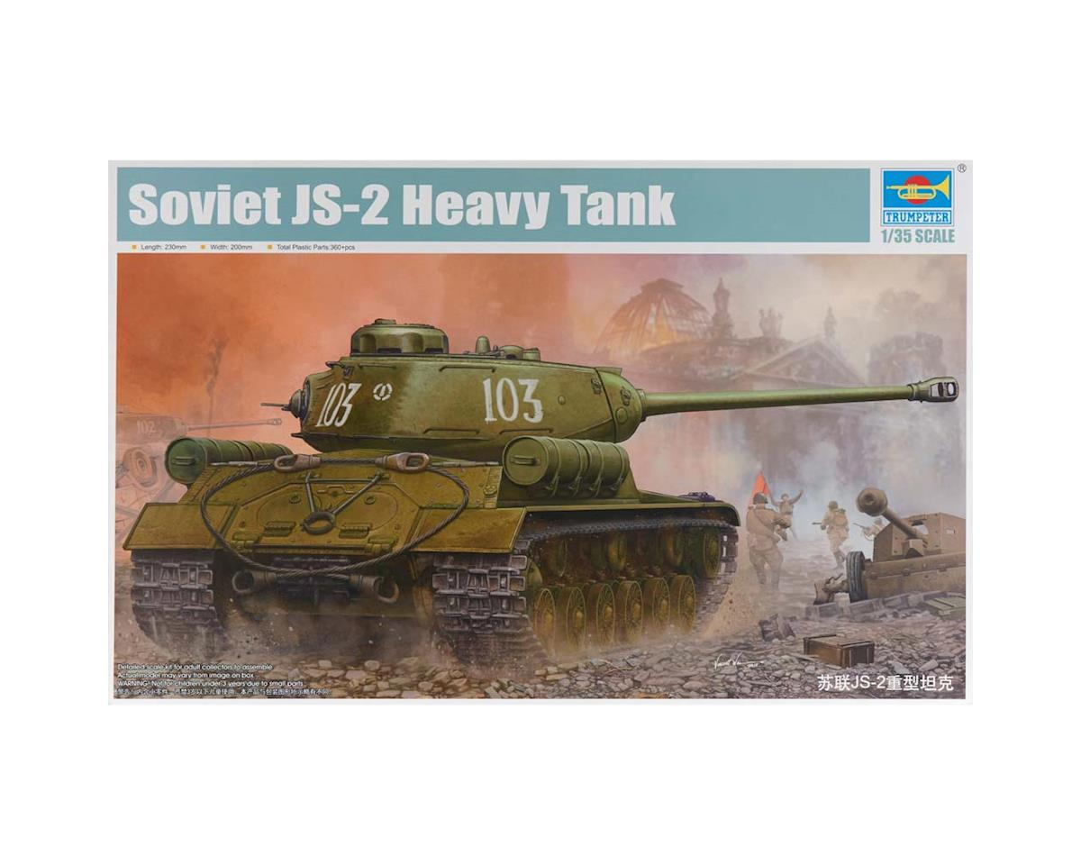 1/35 Soviet JS-2 (IS-2) Heavy Tank by Trumpeter Scale Models
