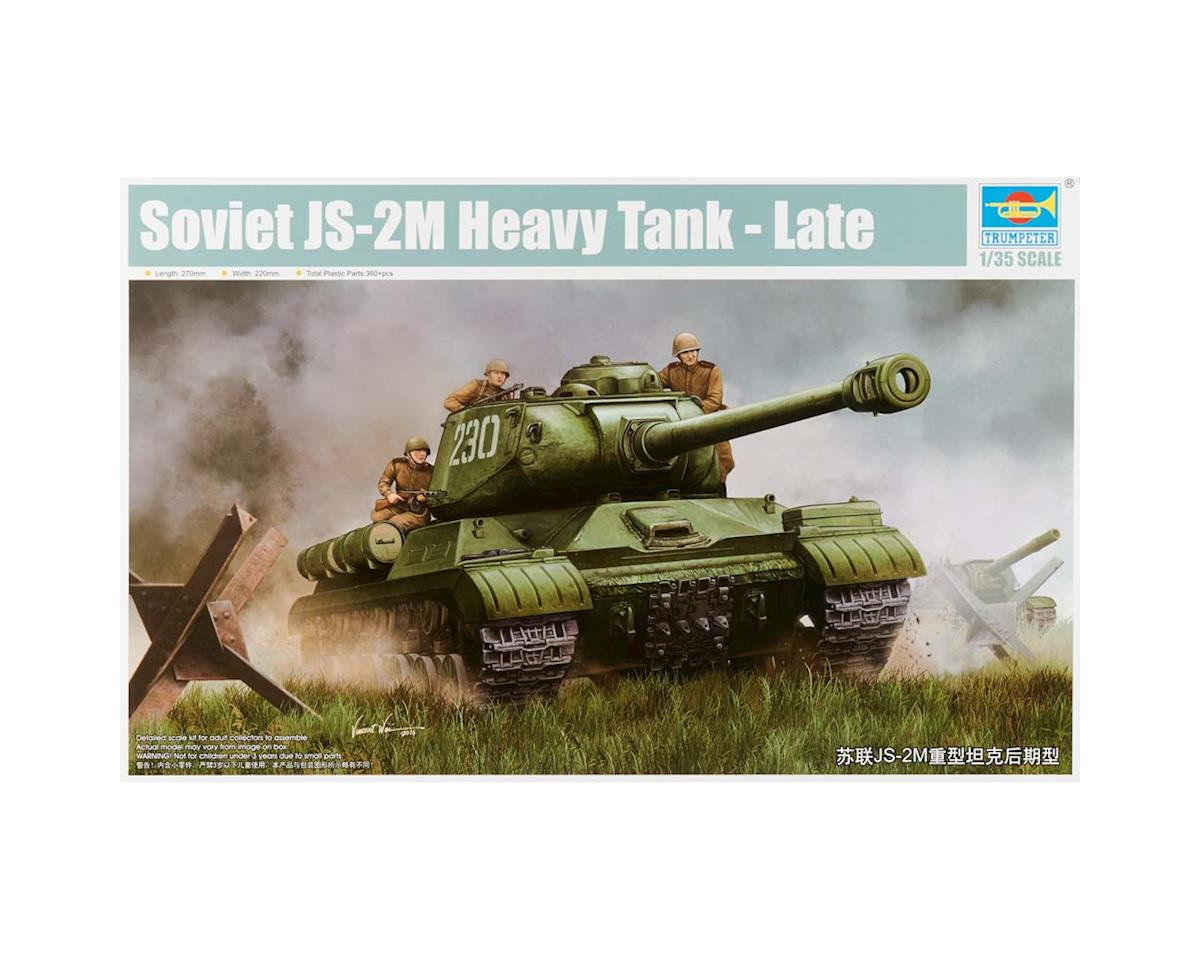 Trumpeter Scale Models 1/35 Soviet JS-2M Heavy Tank Late Version