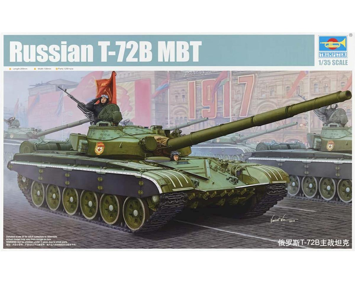 Trumpeter Scale Models 5598 1/35 Russian T-72B Mod 1985 Main Battle Tank