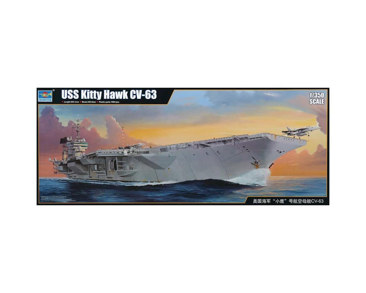 Trumpeter Scale Models 5619 1/350 USS Kitty Hawk CV-63 Aircraft Carrier
