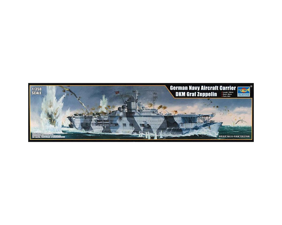 5627 1/350 German DKM Graf Zeppelin Aircraft Carrier by Trumpeter Scale Models
