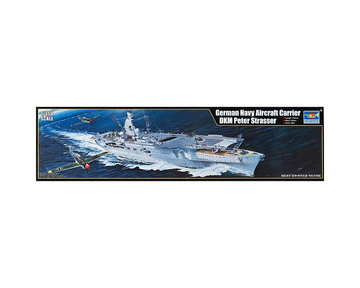 Trumpeter Scale Models 1/350 German DKM Peter Stasser Aircraft Carrier