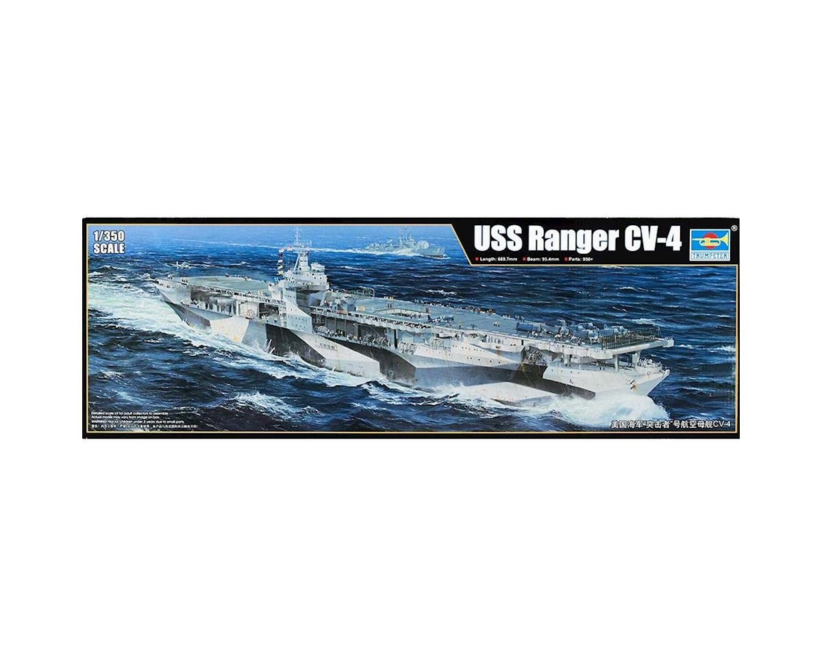Trumpeter Scale Models 1/350 USS Ranger CV-4 Aircraft Carrier