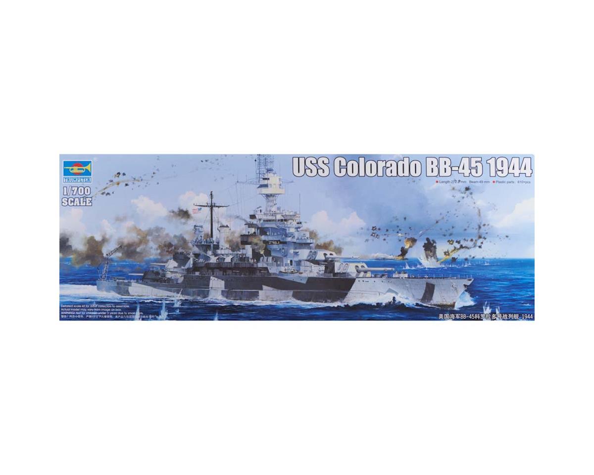 5768 1/700 USS Colorado BB-45 Battleship 1944