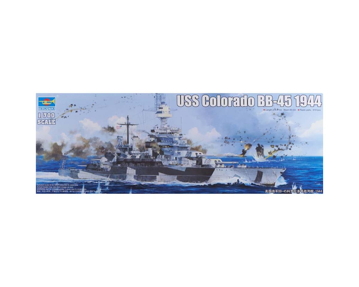Trumpeter Scale Models 5768 1/700 USS Colorado BB-45 Battleship 1944