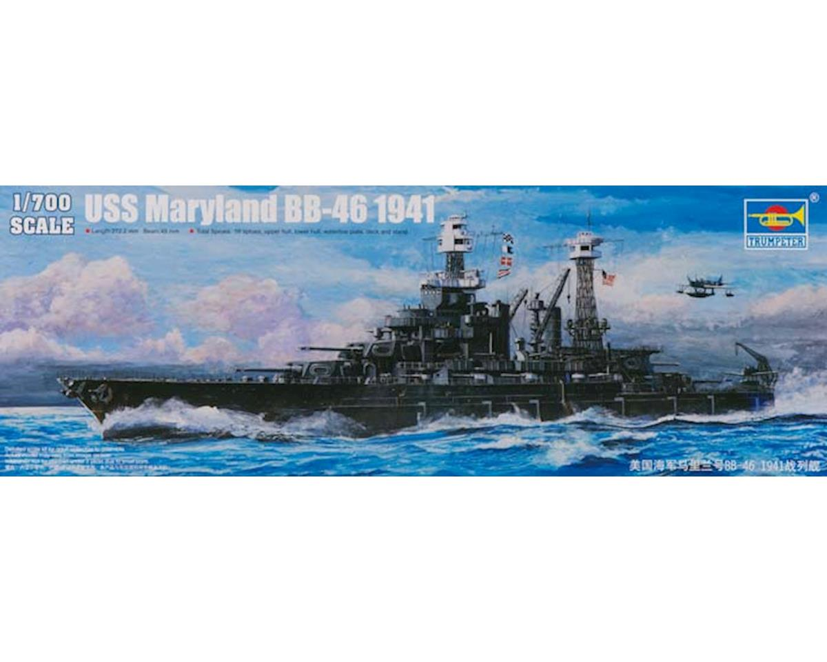 Trumpeter Scale Models 5769 1/700 USS Maryland BB-46 Battleship 1941