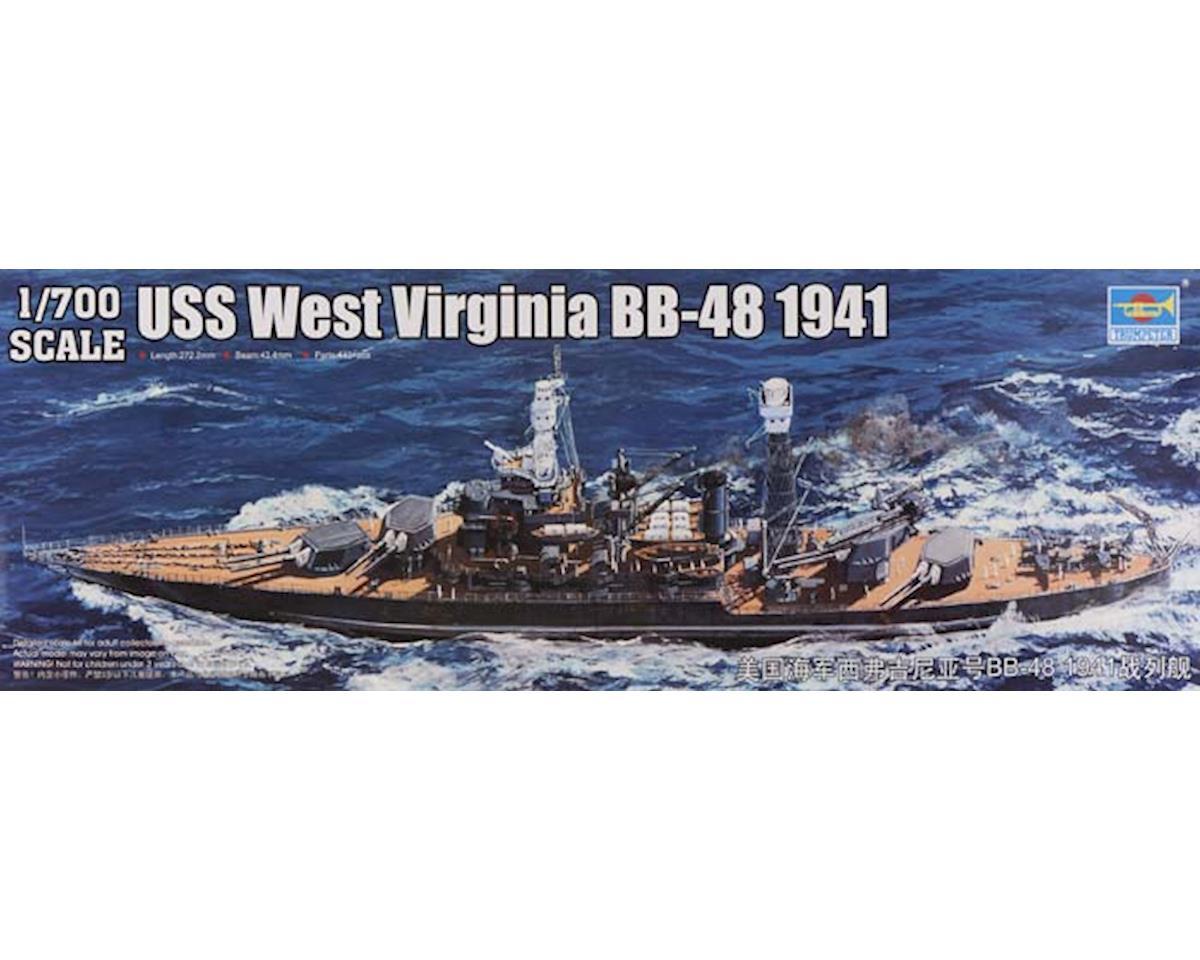 Trumpeter Scale Models 5771 1/700 USS West Virginia BB48 Battleship 1941