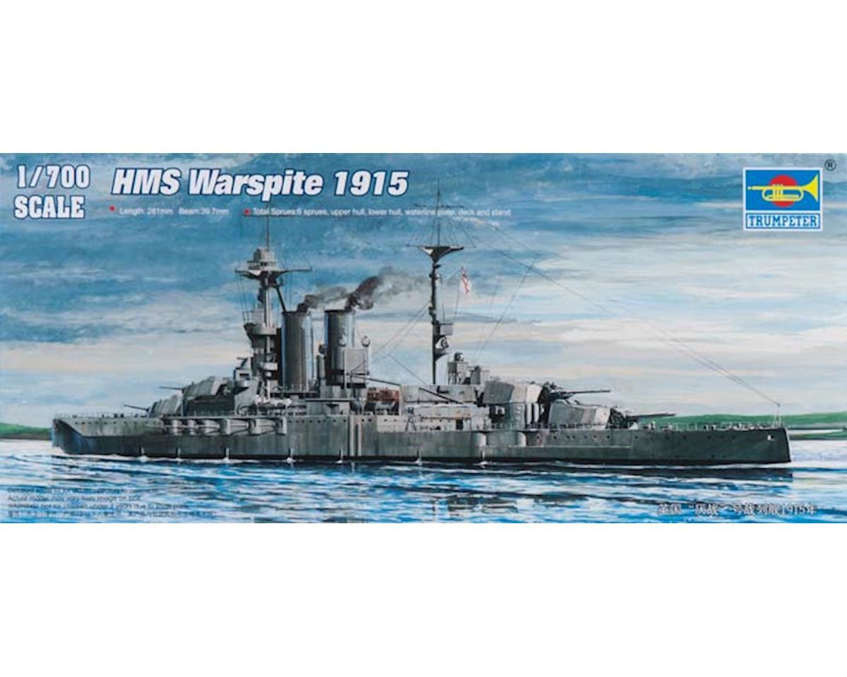 Trumpeter Scale Models 5780 1/700 HMS Warspite Battleship 1915