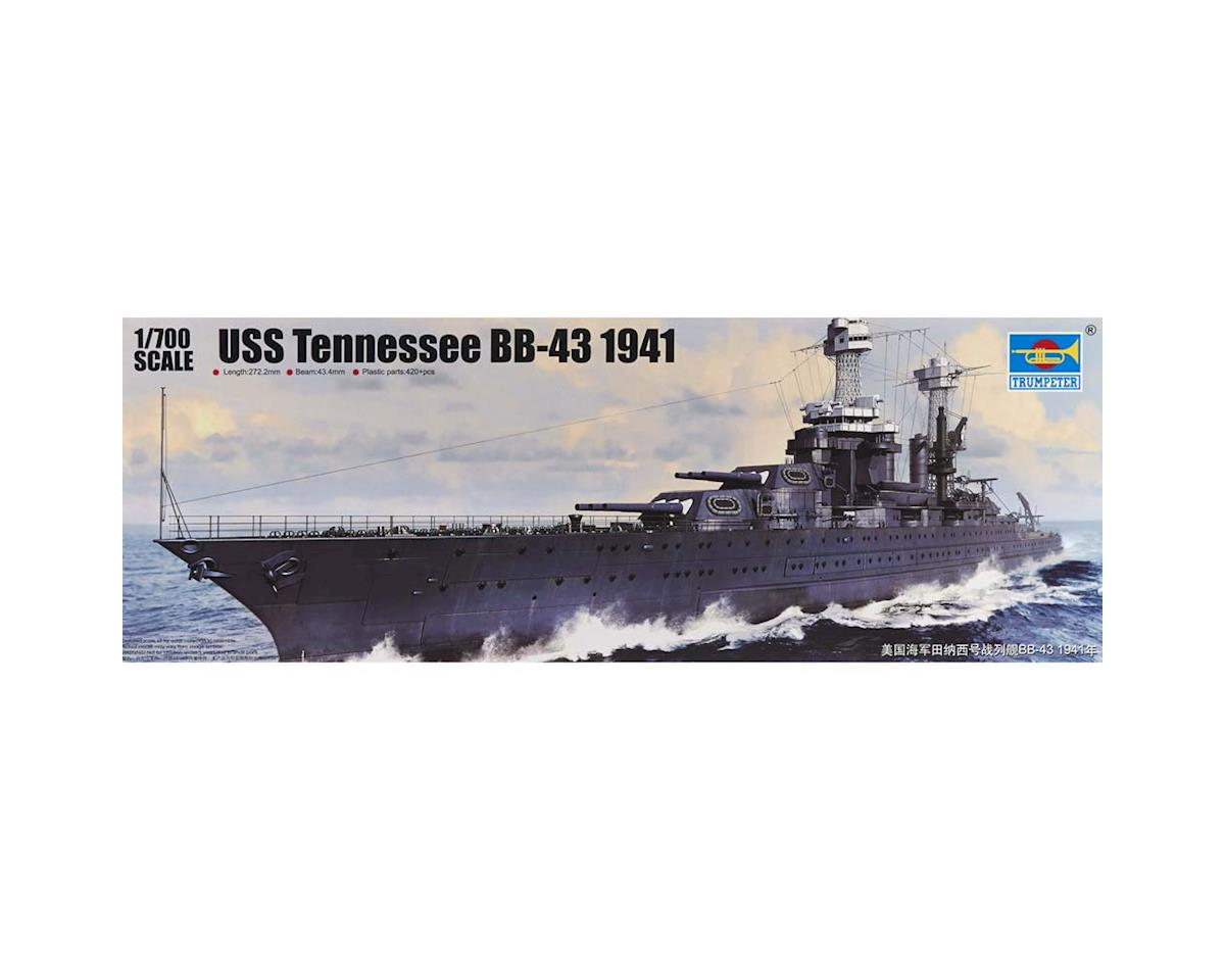 Trumpeter Scale Models 5781 1/700 USS Tennessee BB-43 Battleship 1941