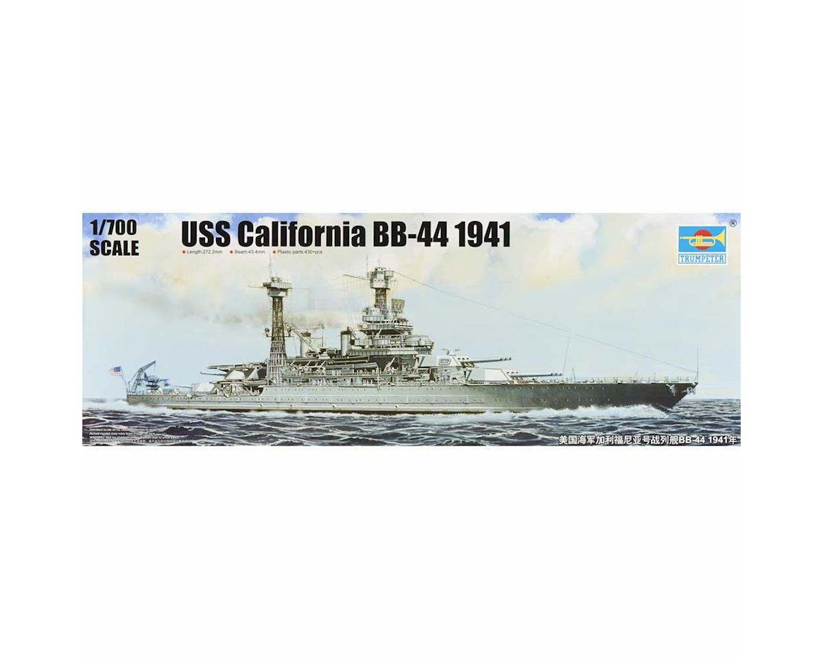 Trumpeter Scale Models 5783 1/700 USS California BB44 Battleship 1941