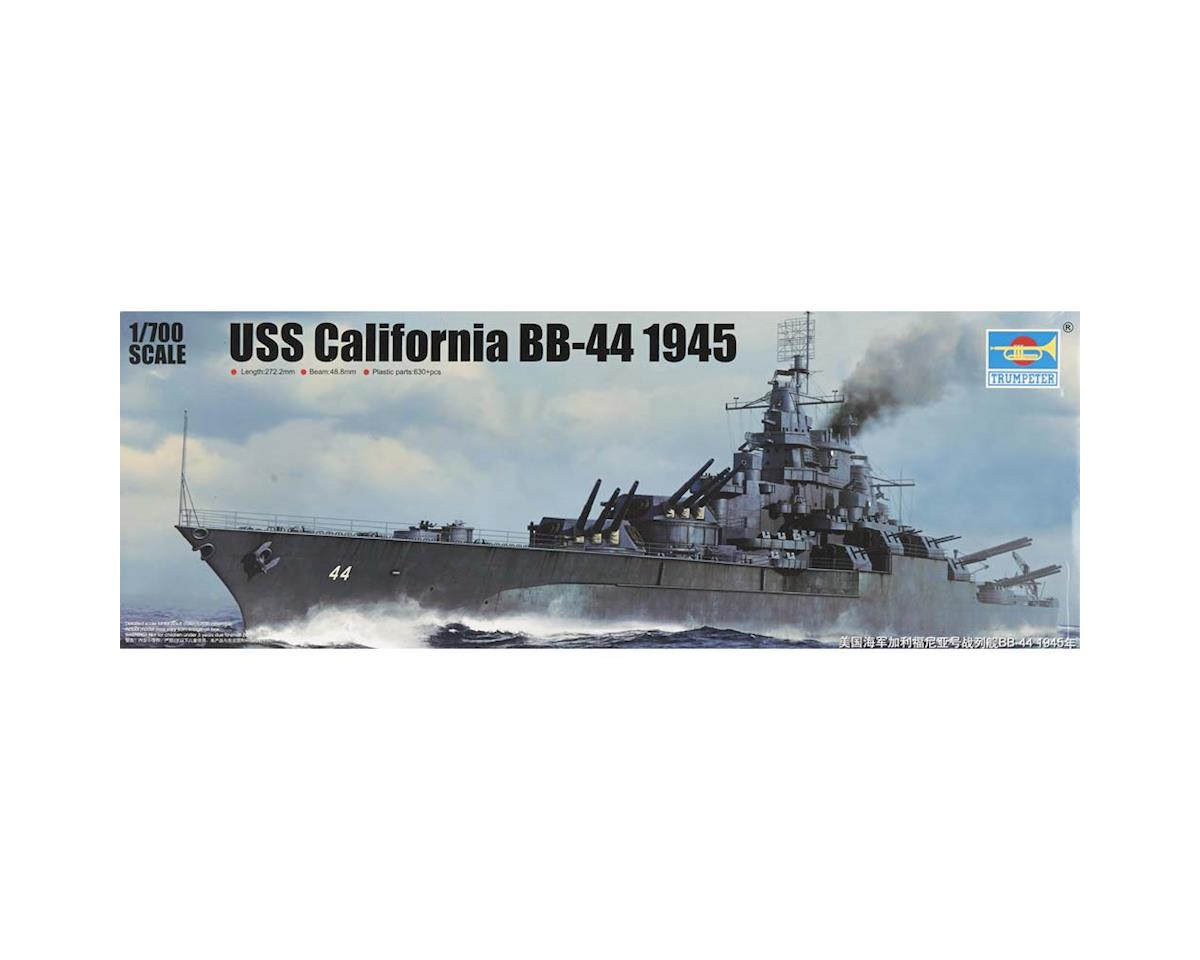 5784 1/700 USS California BB-44 Battleship 1945 by Trumpeter Scale Models