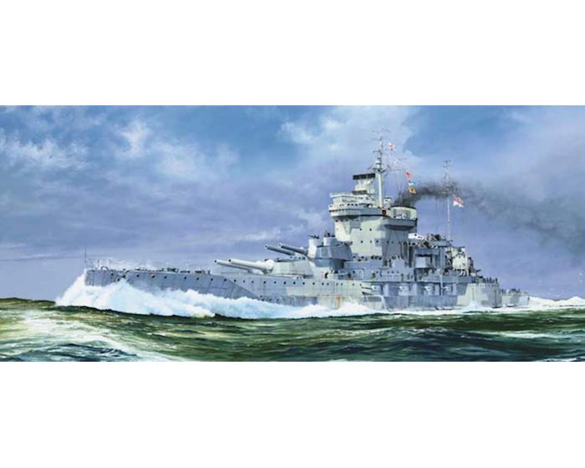Trumpeter Scale Models 5795 1/700 HMS Warspite British Battleship 1942