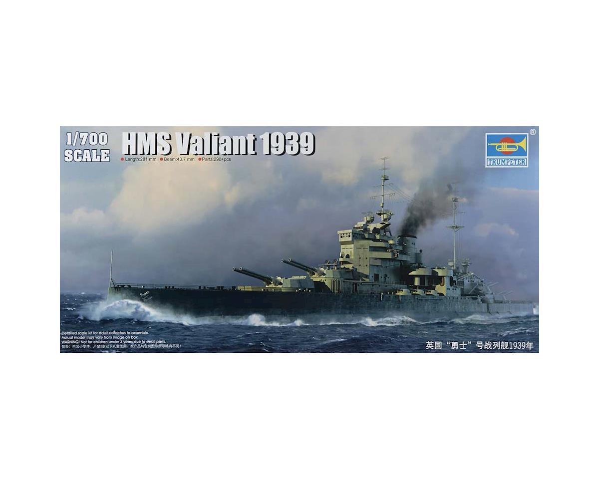 Trumpeter Scale Models 5796 1/700 HMS Valiant British Battleship 1939
