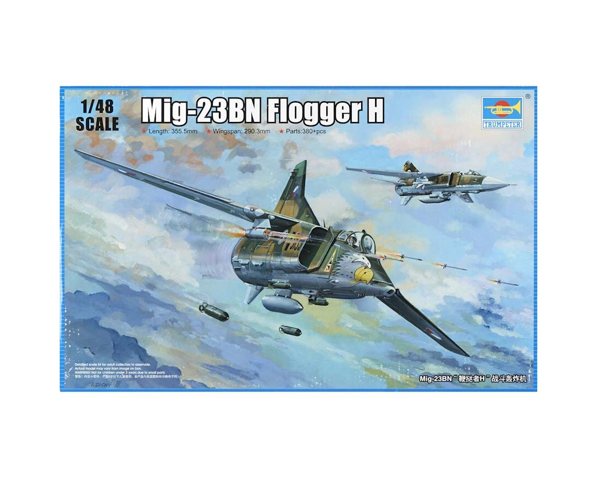Trumpeter Scale Models 1/48 MiG-23BN Flogger H Fighter