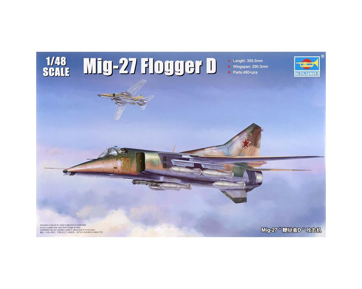 Trumpeter Scale Models 5802 1/48 MIG-27 Flogger D Russian Fighter