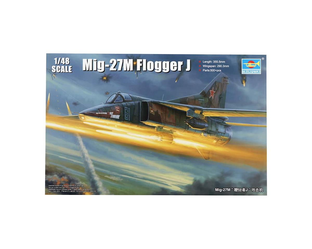 Trumpeter Scale Models 5803 1/48 Mig-27M Flogger J Russia Fighter