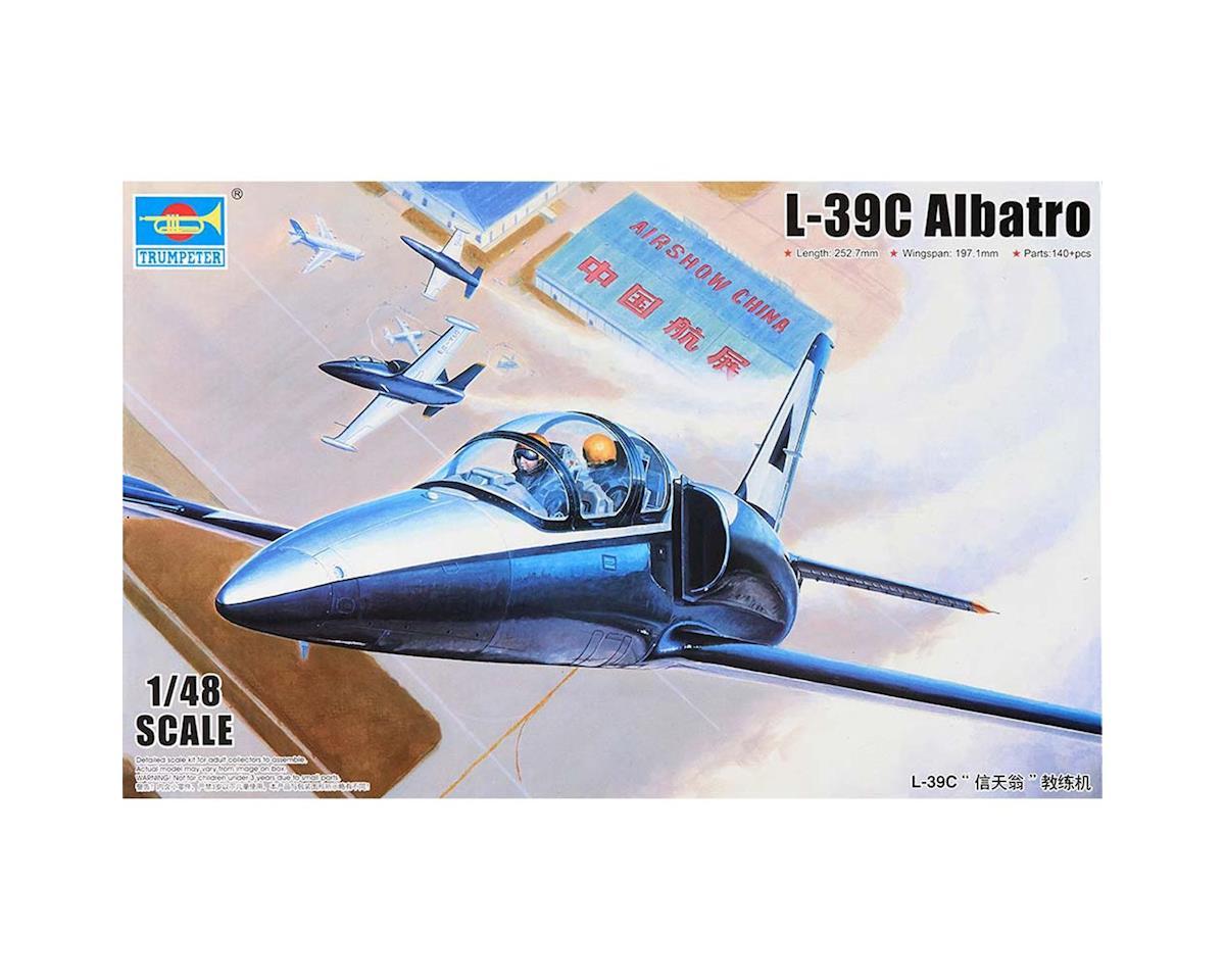 Trumpeter Scale Models 5804 1/48 L39C Albatros Aircraft