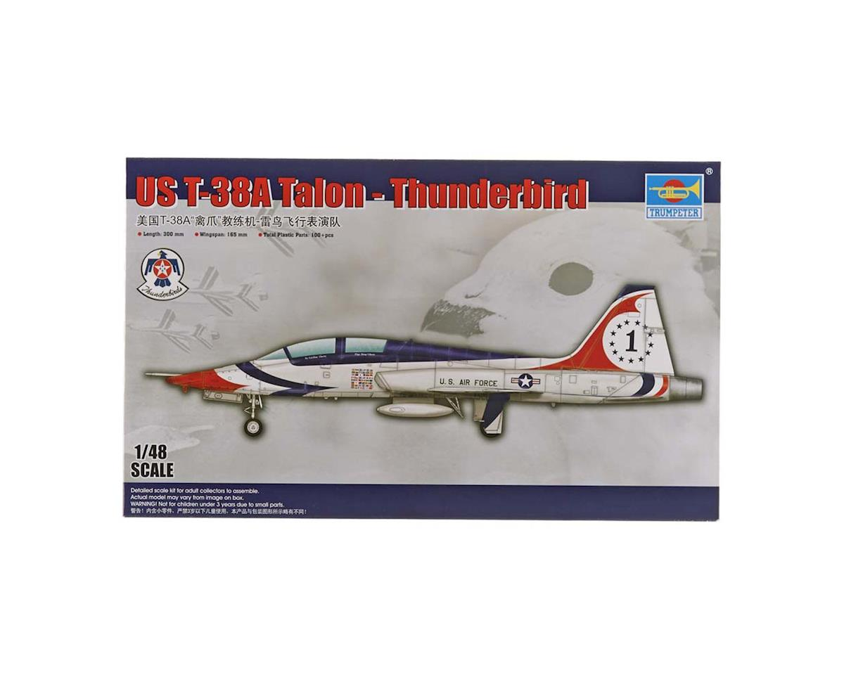Trumpeter Scale Models 1/48 USAF T-38A Talon Thunderbird Jet Trainer