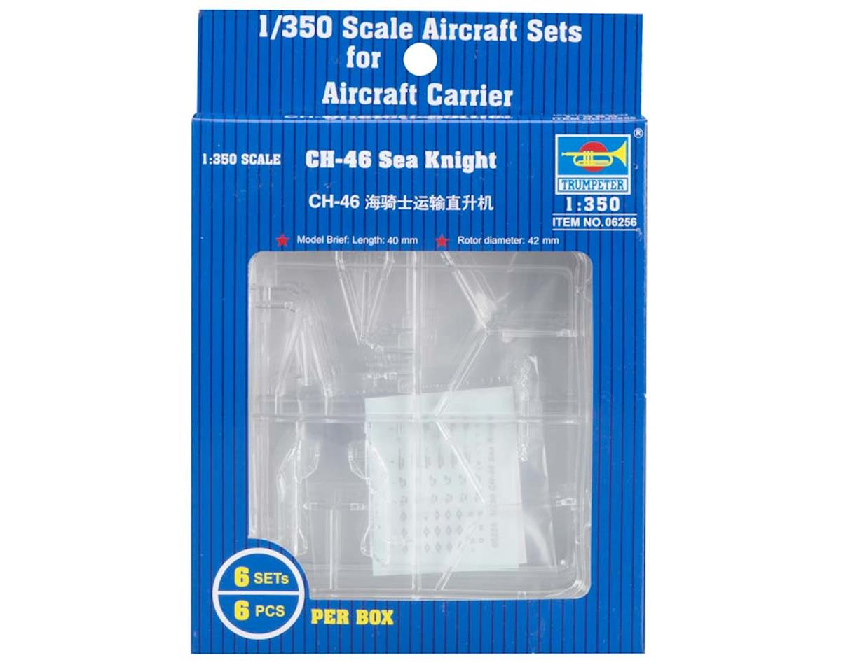 6256 1/350 CH-46 Sea Knight by Trumpeter Scale Models