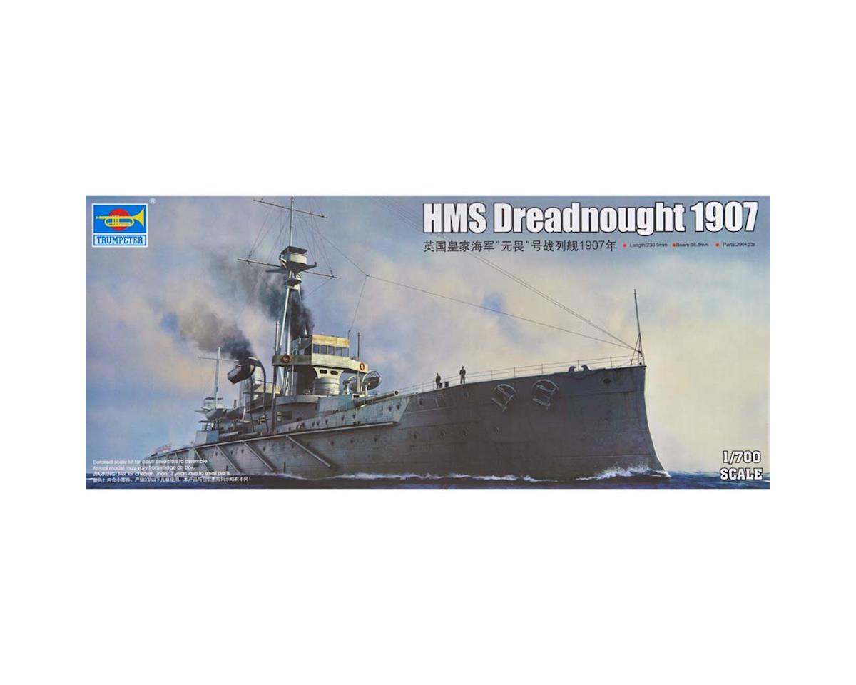 Trumpeter Scale Models 6704 1/700 HMS Dreadnought British Battleship 1907