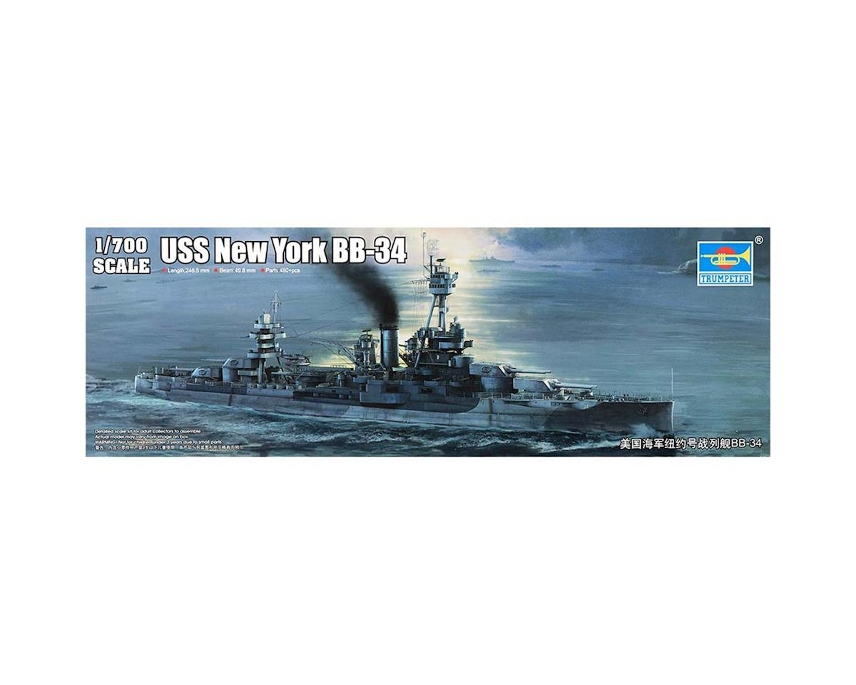Trumpeter Scale Models 1/700 USS New York BB34 Battleship