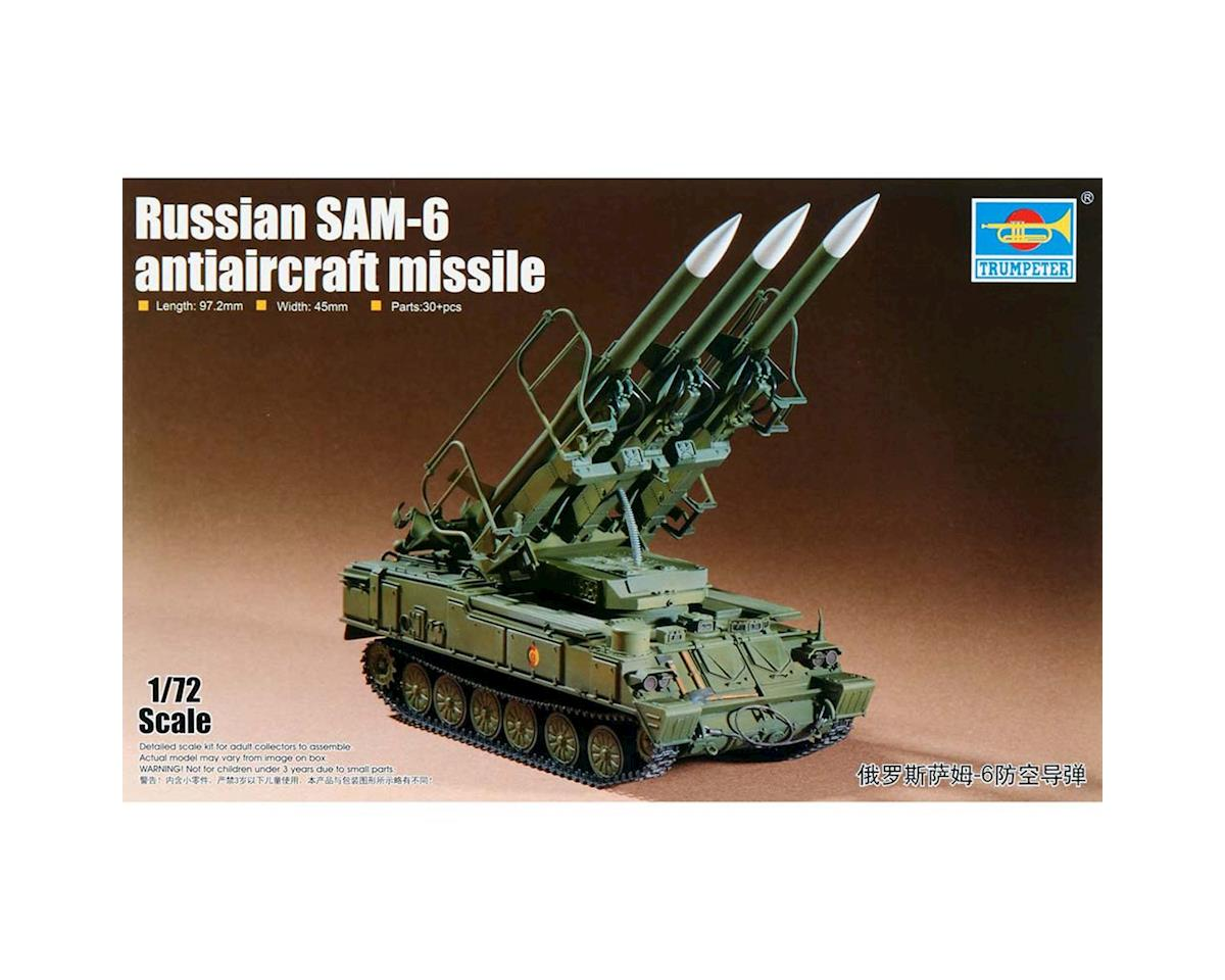 Trumpeter Scale Models 7109 1/72 Russian SAM6 Anti-Aircraft Missile