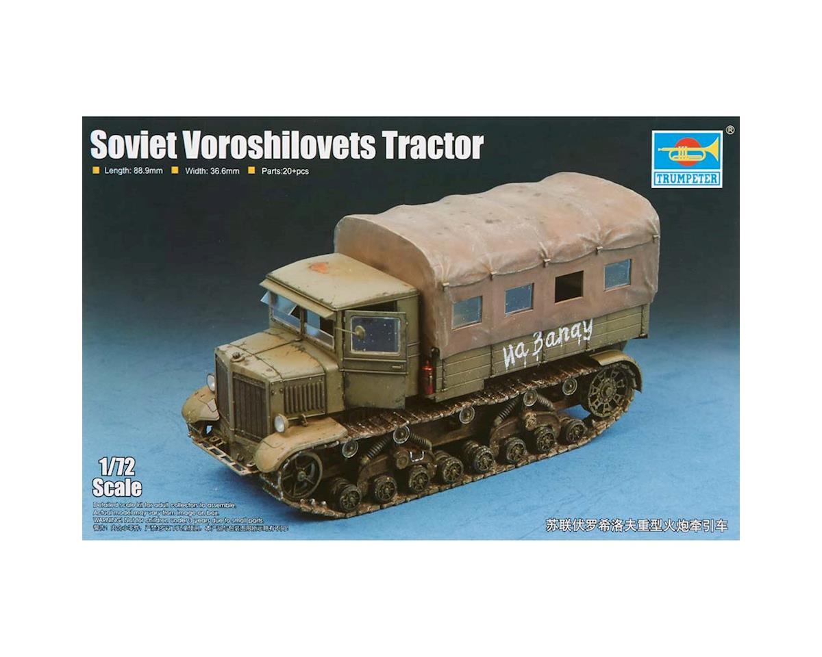 Trumpeter Scale Models 7110 1/72 Soviet Voroshilovets Heavy Artillery Tractor