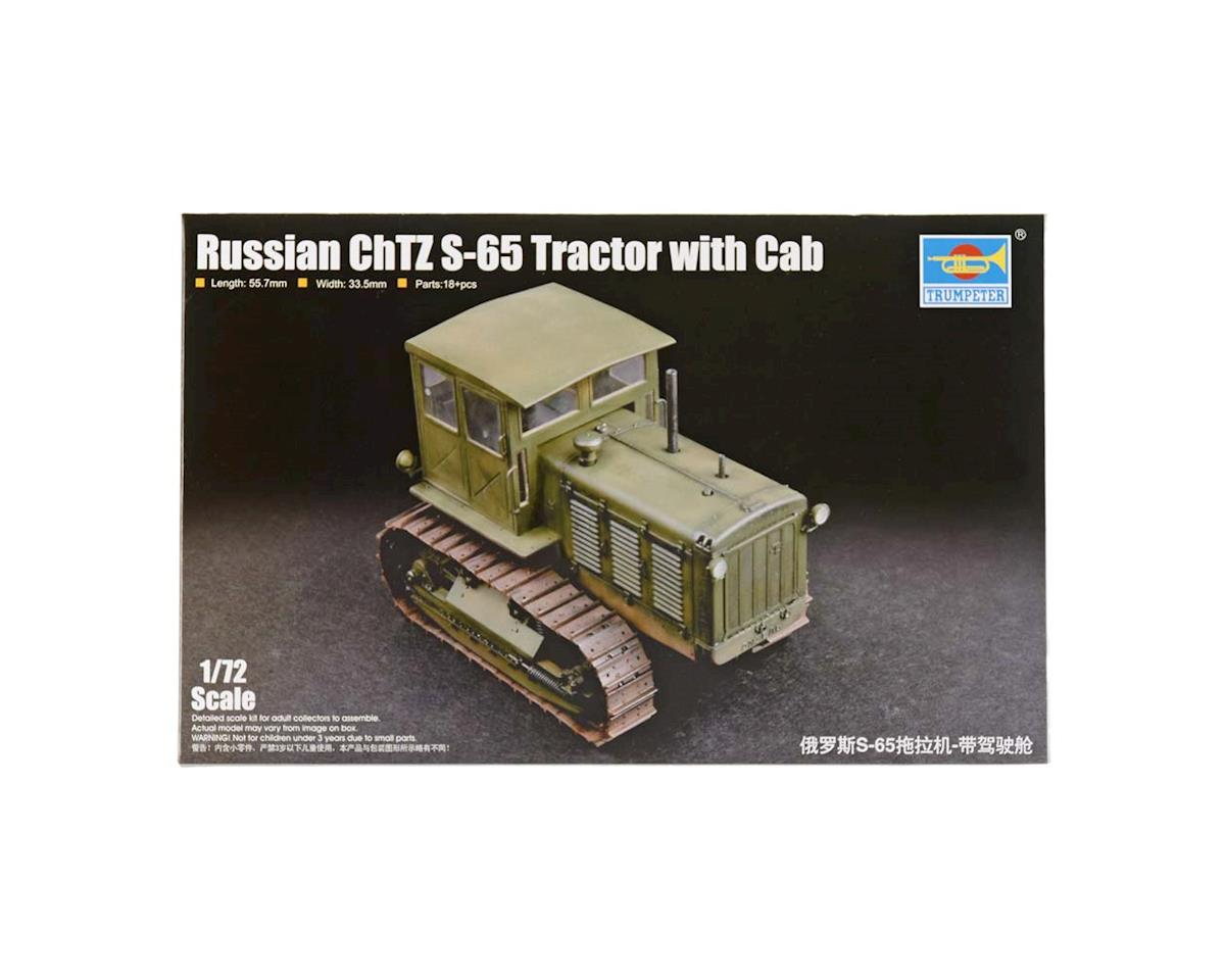 7111 1/72 Russian ChTZ S-65 Tractor w/Closed Cab by Trumpeter Scale Models