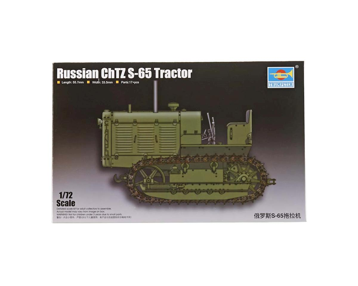 7112 1/72 Russian ChTZ S-65 Tractor w/Open Cab by Trumpeter Scale Models