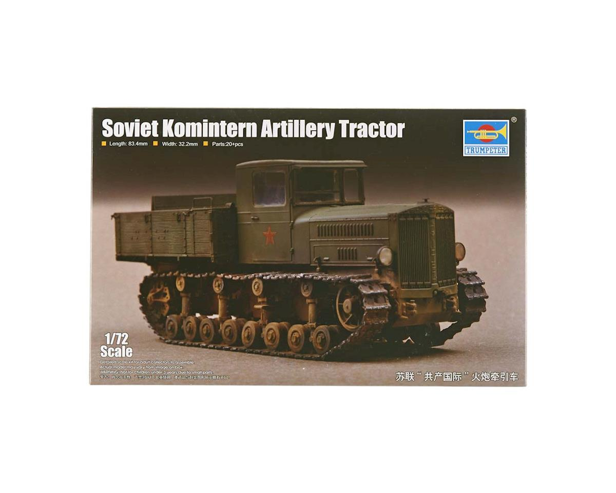 Trumpeter Scale Models 1/72 Soviet Komintern Artillery Tractor