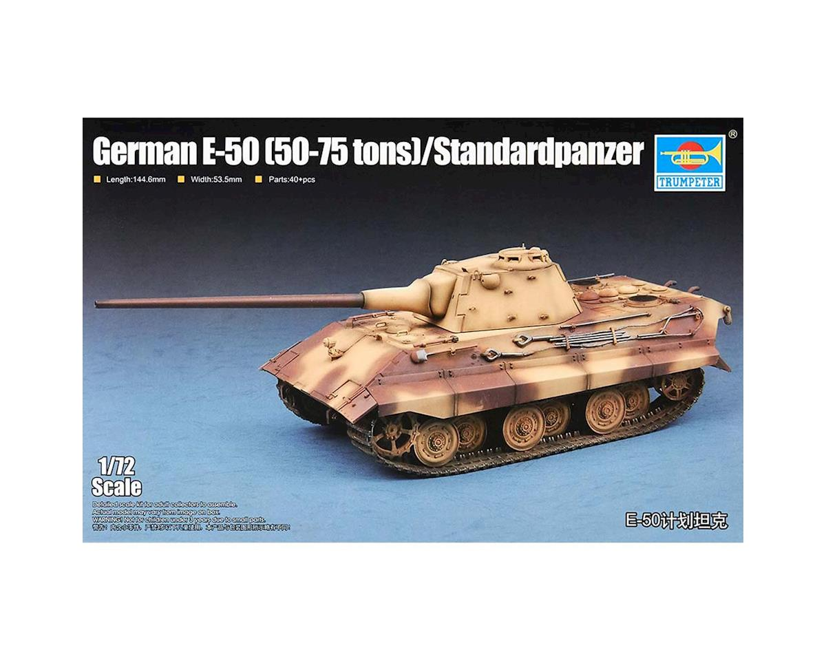 Trumpeter Scale Models 1/72 German E-50 Standardpanzer Tank